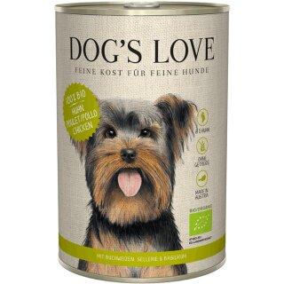 Dogs Love Bio Huhn