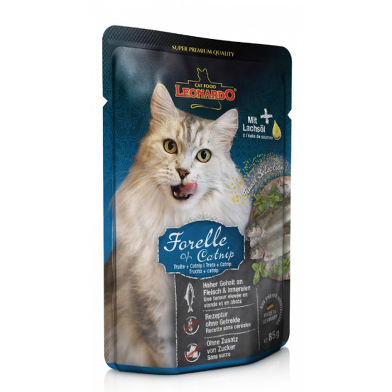 LEONARDO® Finest Selection Forelle + Minze 16 x 85g