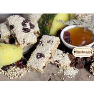 Knusperriegel Sesam-Ananas