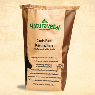 Naturavetal® Canis Plus Kaninchen