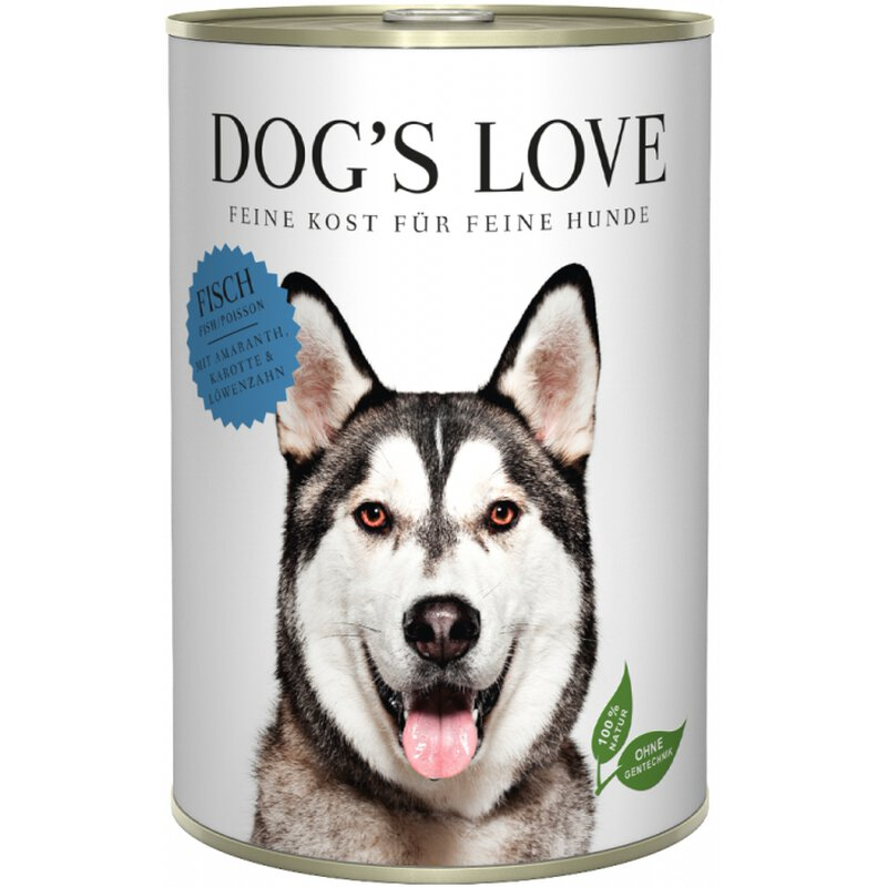 Dog\'s Love Adult Fisch 6 x 400g