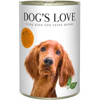 Dogs Love Adult Pute 6 x 400g