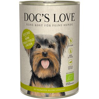 Dogs Love Bio Huhn 6 x 800g