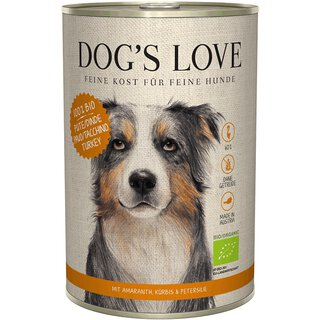Dogs Love Bio Pute 6 x 800g
