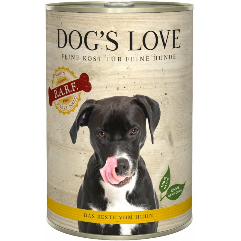 Dog\'s Love B.A.R.F. Huhn Pur