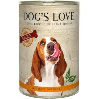 Dogs Love B.A.R.F. Pute Pur