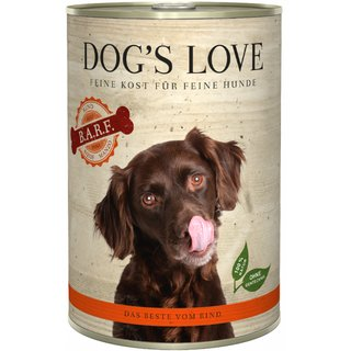 Dogs Love B.A.R.F. Rind Pur
