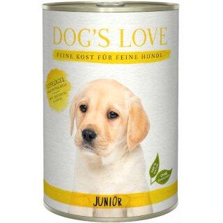 Dogs Love Junior Geflügel