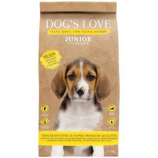 Dogs Love Trocken Junior Huhn