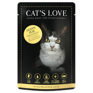 Cats Love Adult Huhn Pur