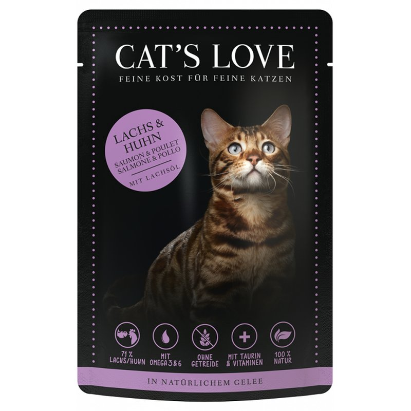 Cat\'s Love Adult Mix Lachs & Huhn