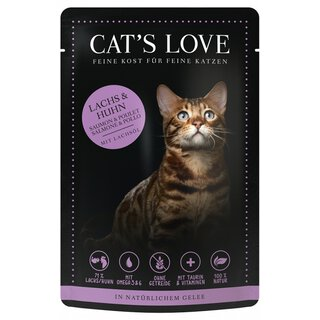 Cats Love Adult Mix Lachs & Huhn 12 x 85g