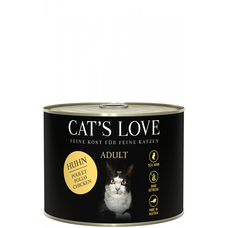 Cat\'s Love Adult Huhn Pur