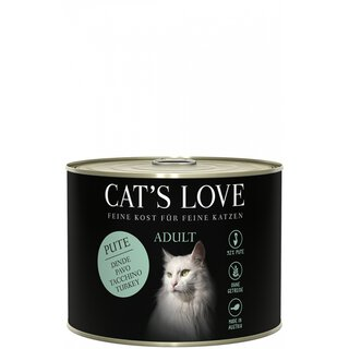 Cats Love Adult Pute Pur 200g