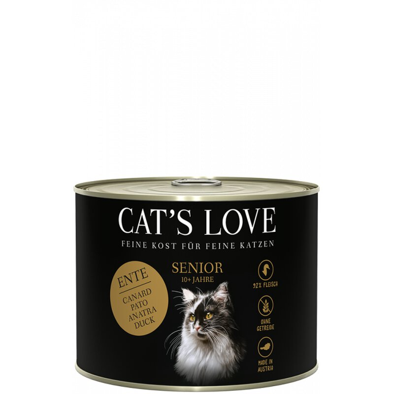 Cat\'s Love Senior Ente 6 x 200g