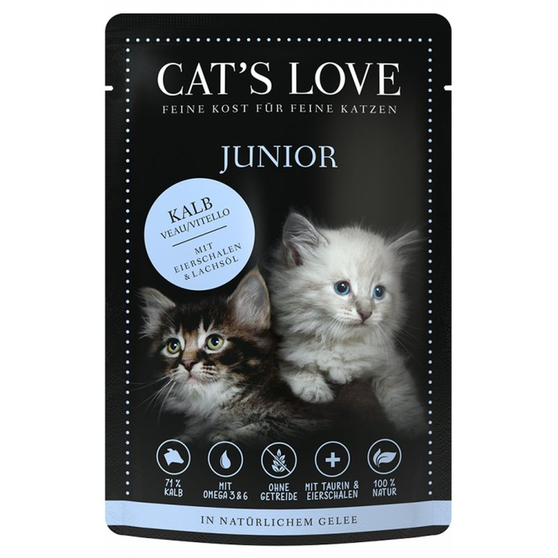 Cat\'s Love Junior Kalb Pur
