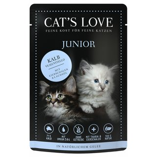 Cats Love Junior Kalb Pur
