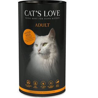 Cats Love Trocken Adult Wild 400g