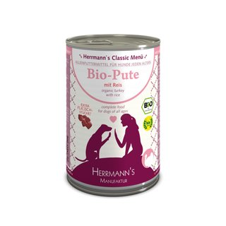 Herrmanns Bio-Pute mit Reis