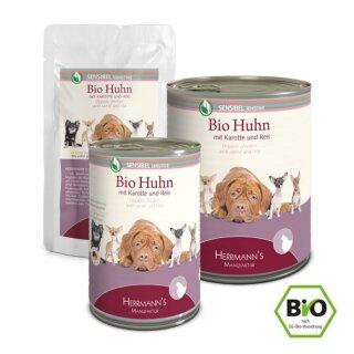 Herrmanns Sensible - Bio Huhn mit Karotte und Reis