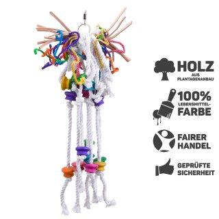 Papageienspielzeug XL Goody Strippy