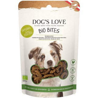Dogs Love Goodies Bio Bites Geflügel