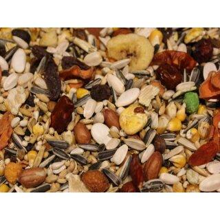 Papageienfutter Müsli-Mix mit Trockenfrüchten 1000g