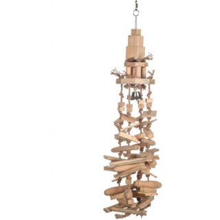 Papageienspielzeug High Blocks Tower