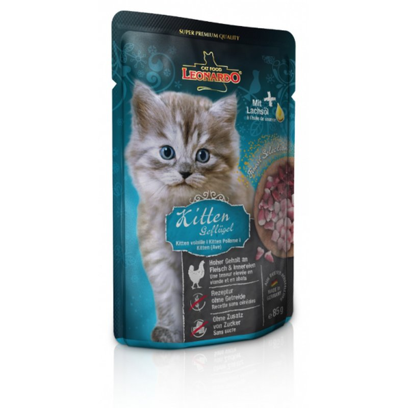 LEONARDO® Finest Selection Kitten Geflügel  16 x...